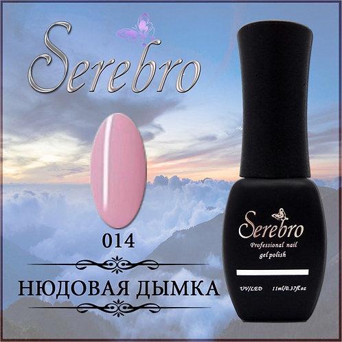 "Гель-лак ""Serebro"" №014, 11 мл"