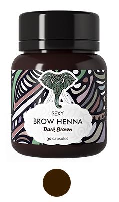 "Хна ""Sexy Brow Henna"" 30 капсул"