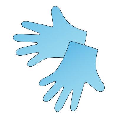 Перчатки термопластичные, 100 пар