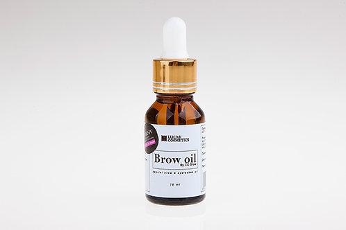 Масло Brow oil для бровей и ресниц, 15 мл | Lucas' Cosmetics