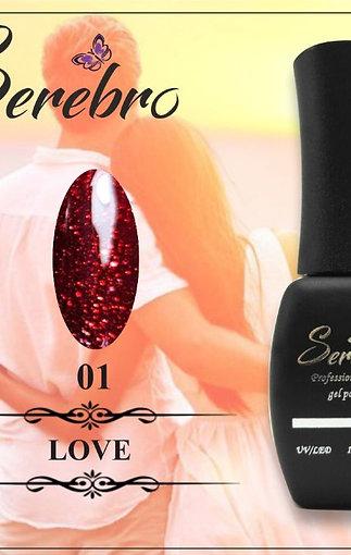 "Гель-лаки ""Serebro"" LOVE"