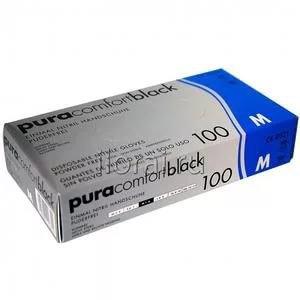 перчатки нитриловые (черные)PUPA