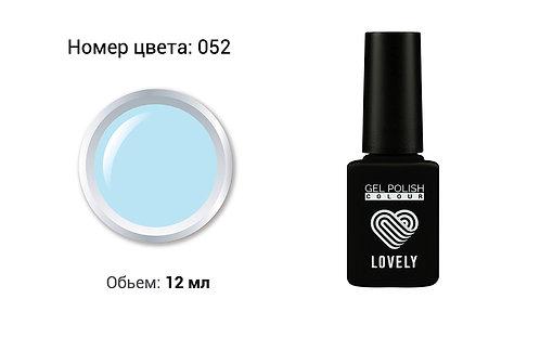 Гель лак Lovely,12мл № 52