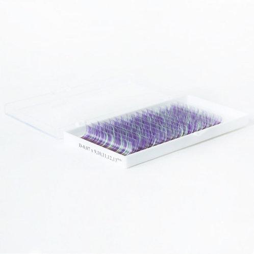 Sakura колорированые ресницы - цвет 04(микс) С