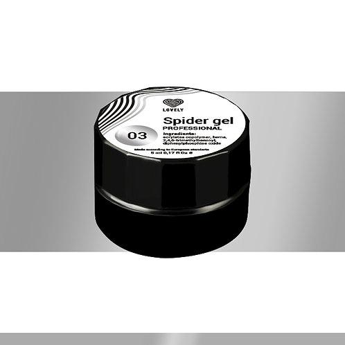 Spider gel Lovely №03, 5 ml