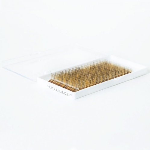 Sakura колорированые ресницы - цвет 01(микс) D