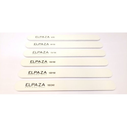 Пилочка ELPAZA узкая белая