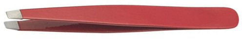 Пинцет скошенный красный: PT-357-RD