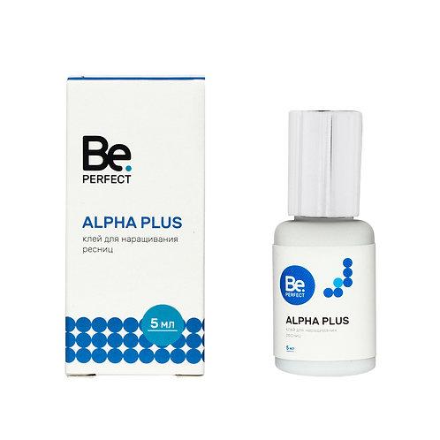 """Клей"""" Be Perfect"""" Alpha Plus  5 мл (черный"""