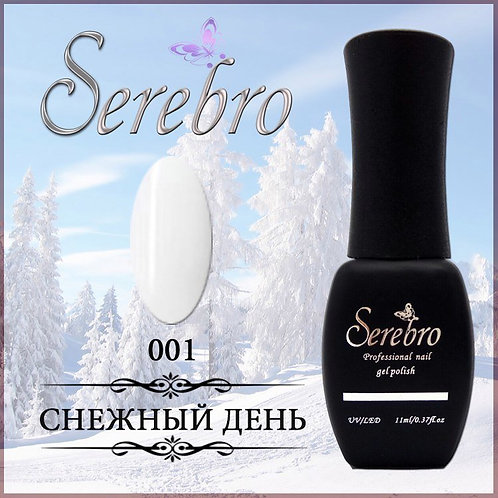 "Гель-лак ""Serebro"" №1"