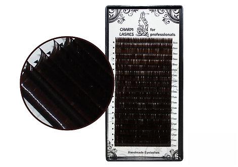 "Ресницы Lovely ""темный шоколад""- 20 линий"