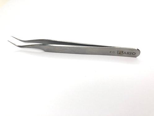 Пинцеты для ресниц Flario стальные