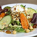 Roasted Carrot Tahini Grain Bowl