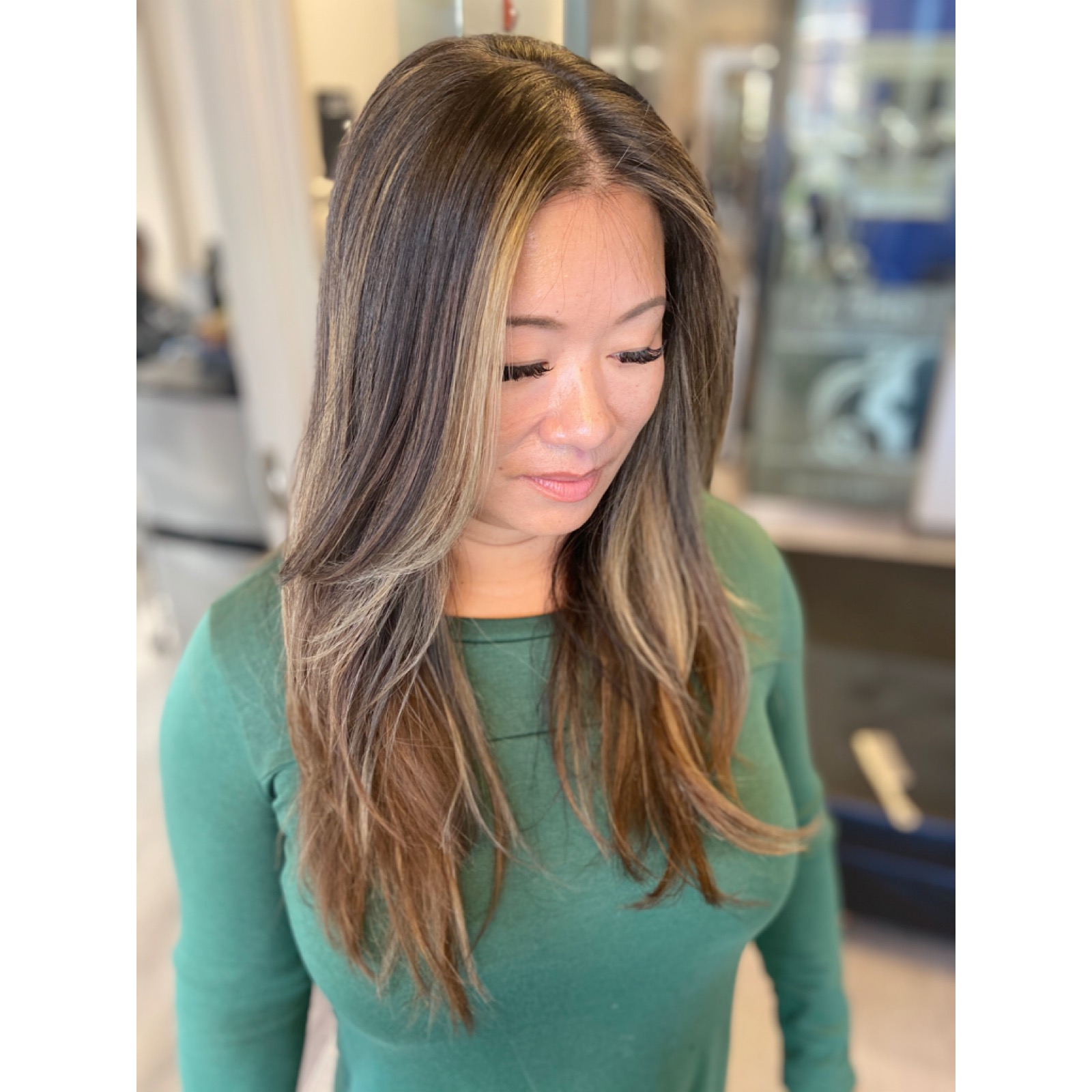 Balayage with Twilight Frame