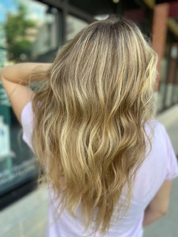 Natural Blonde Balayage
