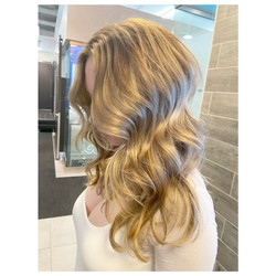 Honey Babylights with Balayage