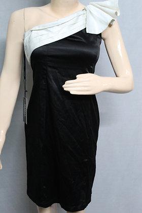 BLACK BEAUTY 1 SHOULDER DRESS