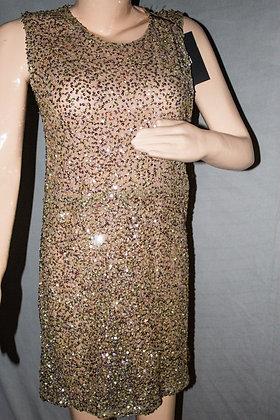 MULTI-COLOUR SHIMMER DRESS