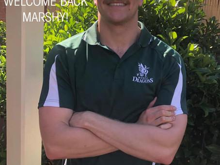 Welcome Todd Marsh