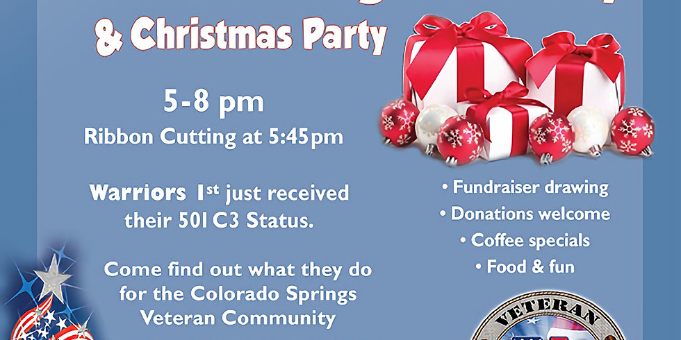 Ribbon Cutting/Christmas Party - Warriors 1st