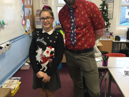Christmas in Year 6