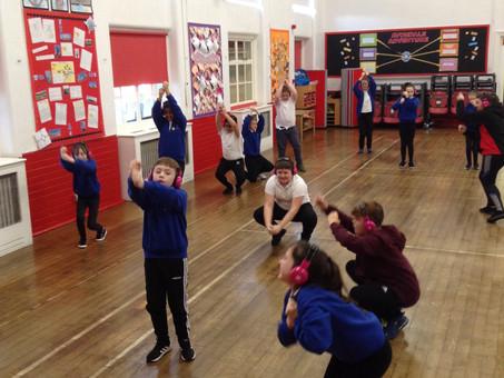 Victorian Dance in PE