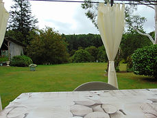 View from deck area