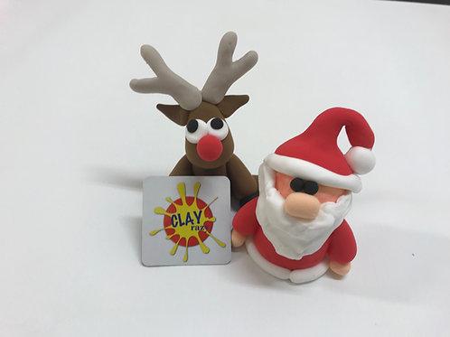 Santa & Reindeer gift set