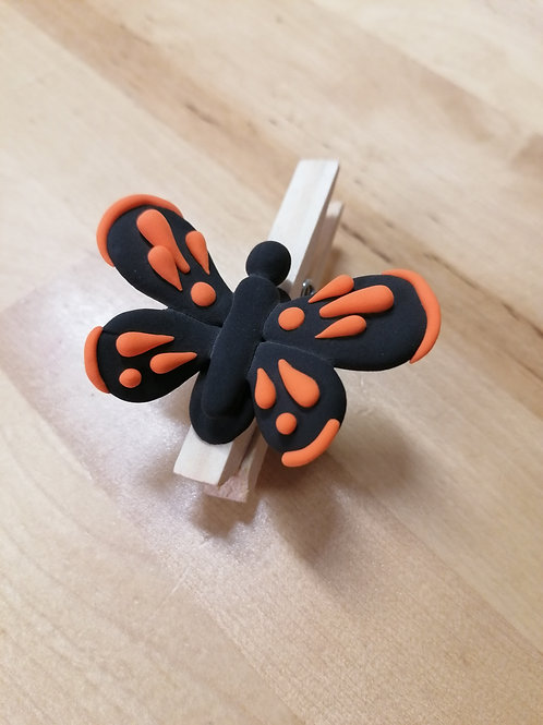 Butterfly Memo Holder