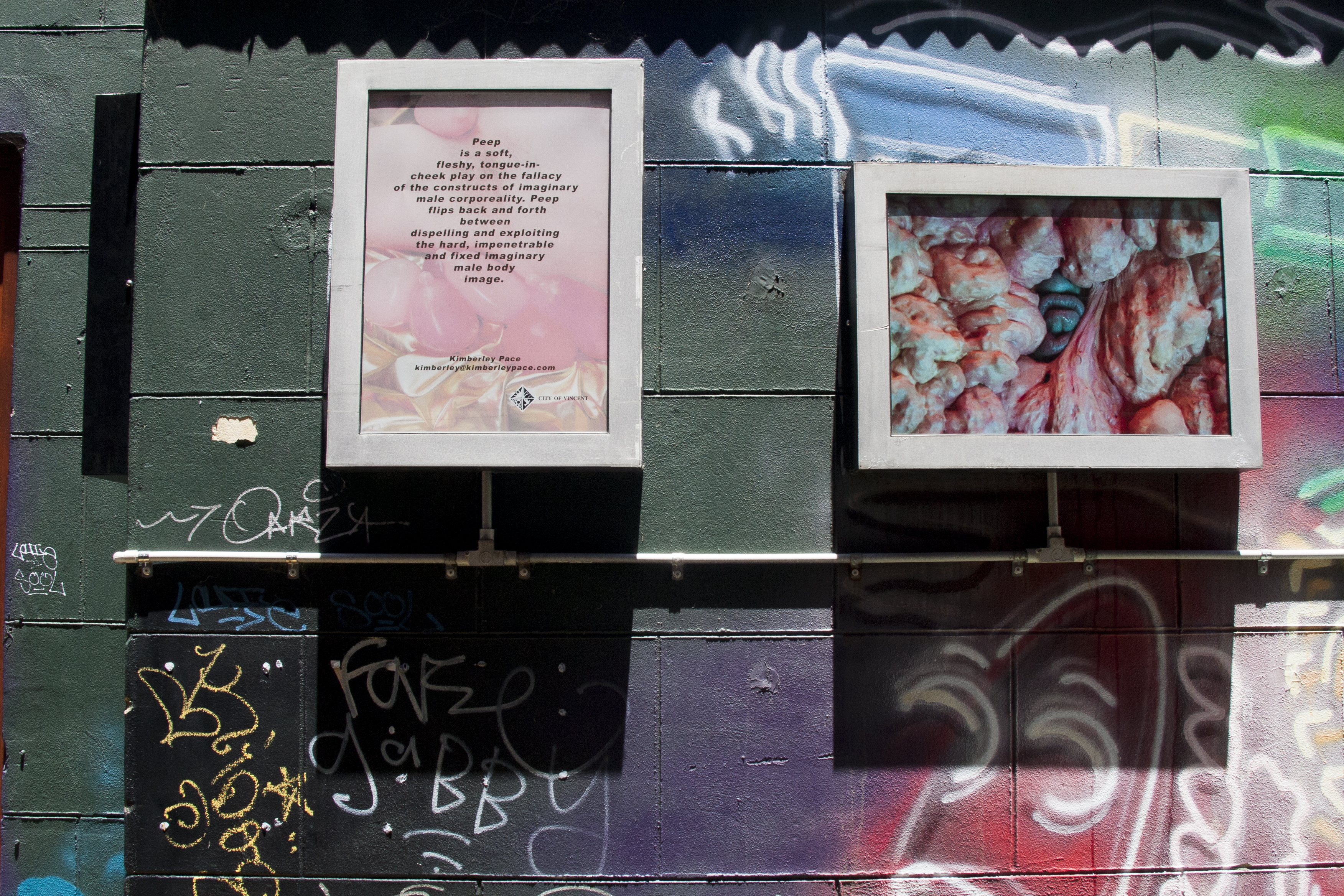Peep - Lightbox Laneway Gallery