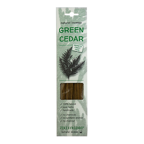 INCENSE green cedar