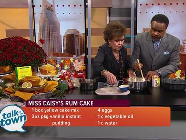 Miss Daisy's Rum Cake