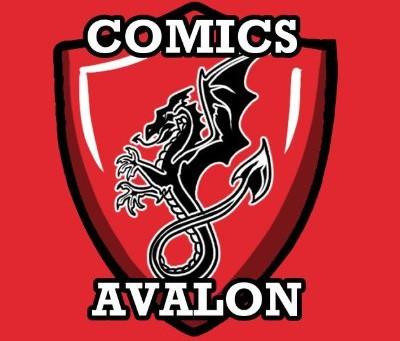 New Merch at Comics Avalon!