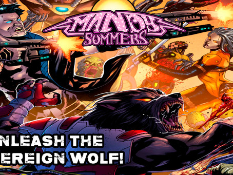 Launching The Indie Comic Book SOVEREIGN WOLF by Eddie Winkler