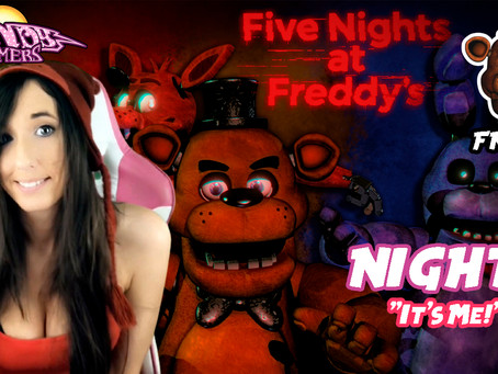 Let's Play FNAF 1 Night 2 !!