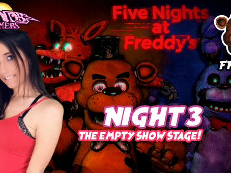 New Video! Five Nights At Freddy's Night 3! The Empty Show Stage!