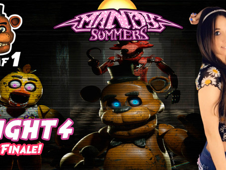 Let's Play! Five Nights at Freddy's Night 4! My Final Night!