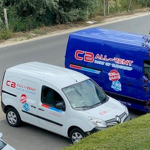 Bestelwagen verhuur e-commerce