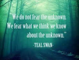 What Does Your Fear Say to You?