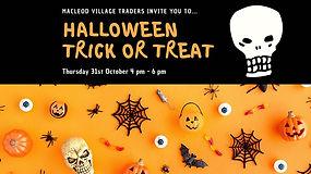 Macleod Village Halloween Trick or Treat