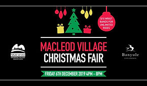 Macleod Village Christmas Fair for newsl