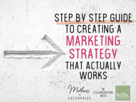 Step by Step Guide to Creating a Marketing Strategy  That Actually Works