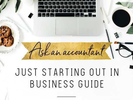 """Your Very Own """"Just Starting Out in Business Guide"""""""