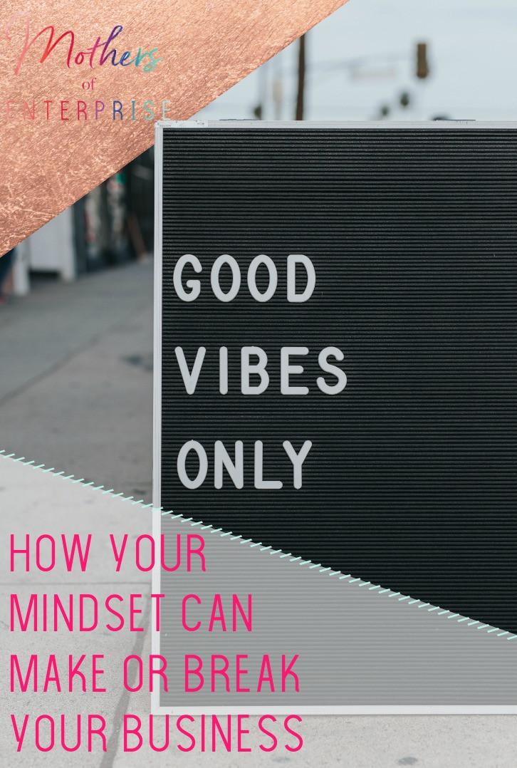 good vibes business mindset