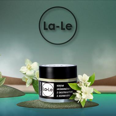 La-Le cosmetics jasmin jar