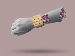Buccelatti cuff bracelet