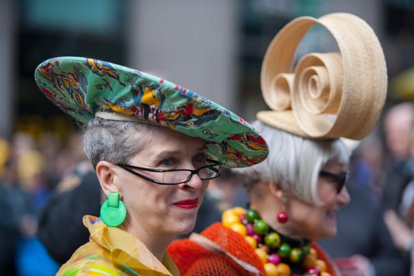 Eastern bonnets parade
