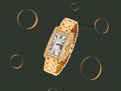 Cartier Watch In Web.