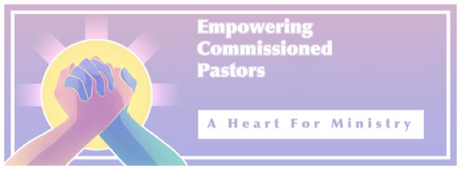 logo concept commissoned pastors banner