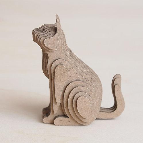 段々倶楽部 段々猫「sitting-b」